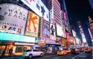 Digital advertising billboards