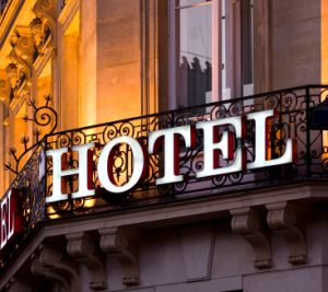Advertising for hotels