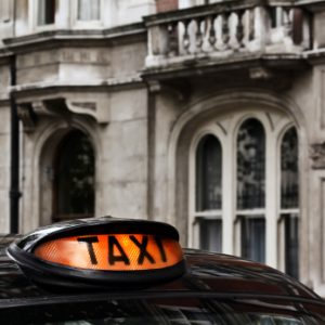 Radio advertising for taxi companies